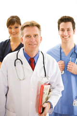Doctors: Trustworthy Health Professional Team