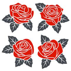 Roses set 002