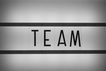 Team work bei der Arbeit im Beruf