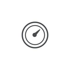 speedometr icon. sign design