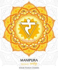 Vector of Manipura chakra