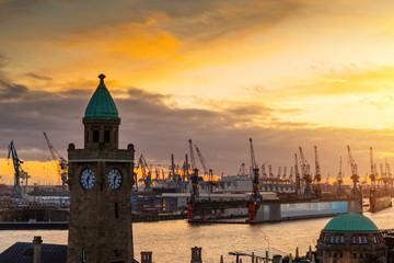Hamburg Landungsbrücken, Germany