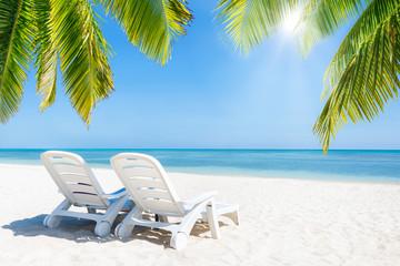 Entspannen im Urlaub am Strand