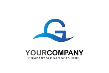 G  Line Letter Logo Design