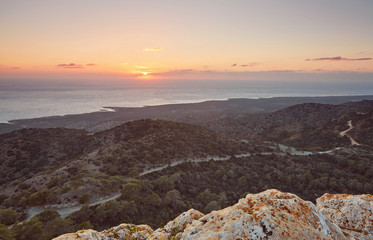 Cyprus Akamas Peninsula National Park mountain's