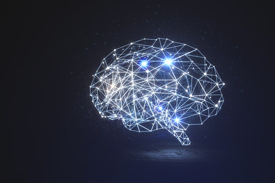 Artificial intelligence and innovation concept