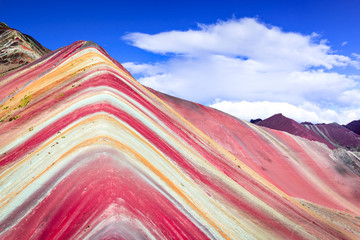 Poster South America Country Vinicunca, Rainbow Mountain - Peru