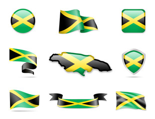Jamaica Flags Collection