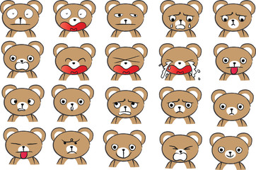 bear Expression package