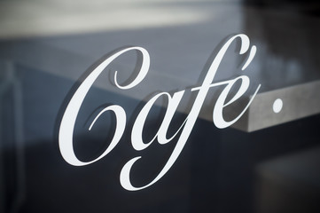 vitrine café