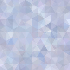 Background of pastel blue, gray geometric shapes. Abstract triangle geometrical background. Mosaic pattern. Vector EPS 10. Vector illustration