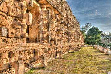 Die Ruinenstadt Kabah der Maya