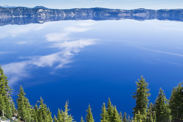 Reflections at Crater Lake National Park