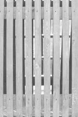 wall of wooden slats