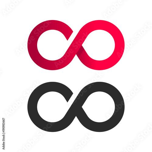 Infinite Symbol Logo Icon