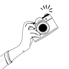Illustration of camera