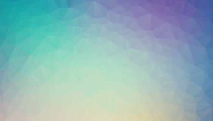 Light BLUE vector blurry triangle background design. Geometric background in Origami style with gradient.