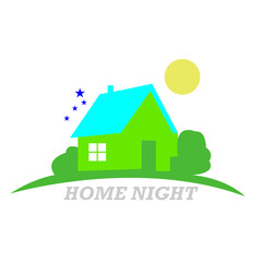 Logo House abstract real estate country
