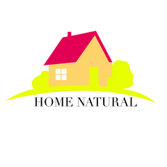 Logo House abstract real estate countryside