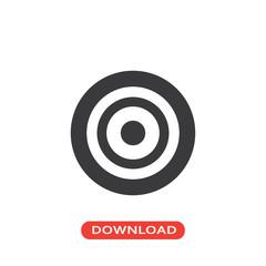 Target shooting icon