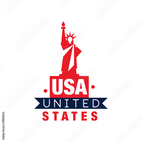 monochrome emblem with statue of liberty silhouette united states rh fotolia com statue of liberty lego instructions statue of liberty lego