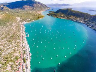 Nidri bay Lefkada Greece