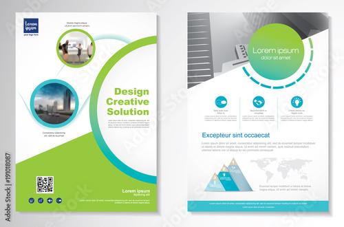 template vector design for brochure annual report magazine poster