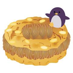パリブレストとペンギン