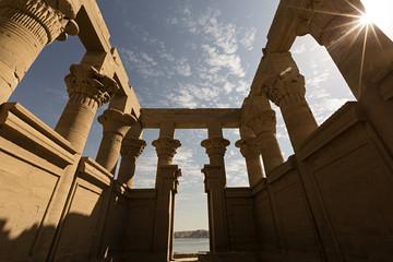 Templo de Philae, detalle. Egipto