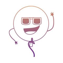 kawaii balloon icon