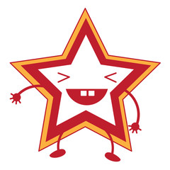 Kawaii star icon