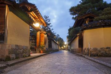 Samurai district in Kanazawa, Japan
