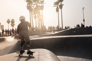 Skate Park in Los Angeles