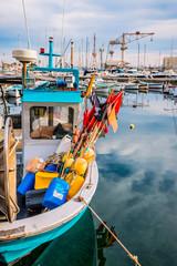 Bateaux de pêche dans le port de La Ciotat