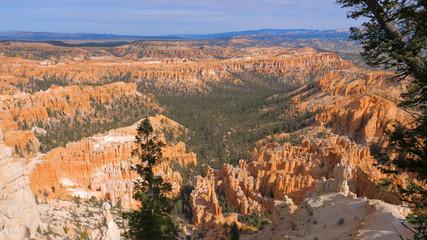 Sand Mountain Red Orange Bryce Canyon National Park USA