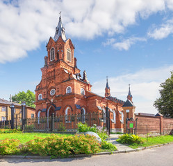 The Roman Catholic Church. Vladimir. Russia.