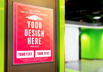 Indoor Advertising Mockup 1
