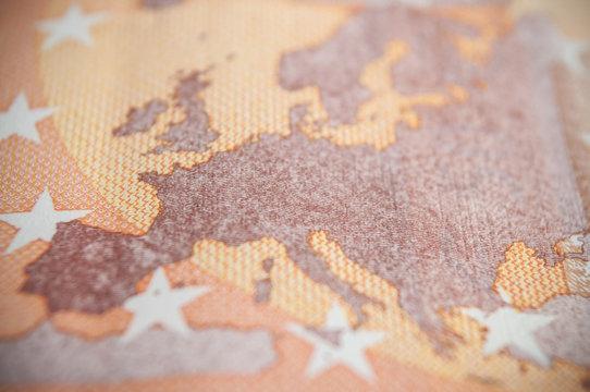 détail billets de cinquante euros