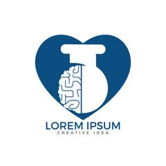 Brain lab logo design.