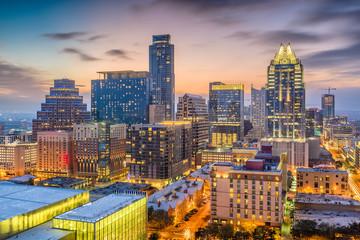 Fototapete - Austin, Texas, USA