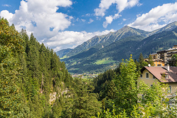 Sommerurlaub in den österreichischen Alpen in Bad Gastein