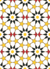 Moroccan style mosaic ornament.