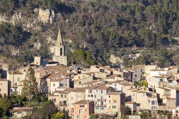 Le village de Bargemon près de Draguignan,Var