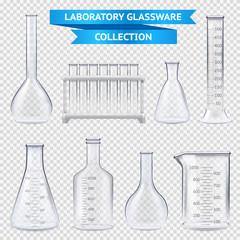 Realistic Laboratory Glassware Collection
