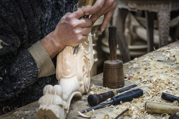 Hand carving, wood carvings,