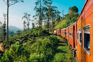 Best train ride in Sri Lanka