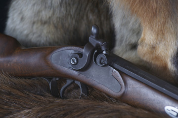 Caliber .54 Hawken Style Percussion Rifle