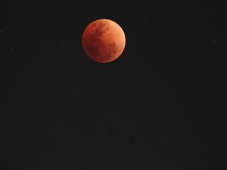 Bloody moon 31 January 2018