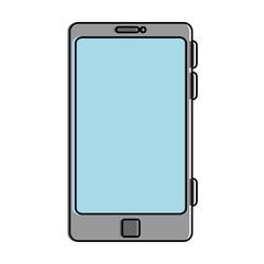 smartphone device isolated icon vector illustration design
