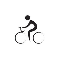 cyclotourism icon. Elements of sportsman icon. Premium quality graphic design icon. Signs and symbols collection icon for websites, web design, mobile app